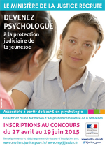Recrutement psychologues DPJJ